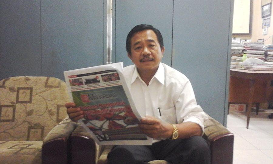 Kepala Sekolah SMA/SMK/SMP Yayasan Perguruan Gadjahmada Medan Drs  Fo'arota Zega, MPd